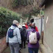 01_07 rando galette (4) approche du tunnel
