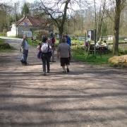 08-04-18 St Hilarion 14 - Arrivée à l'étang de St Hilarion
