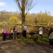08-04-18 St Hilarion 16 - Petite pause à l'étang de St Hilarion 2