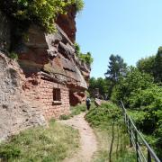 dimanche 06-05 -20 Entre les châteaux forts et étangs