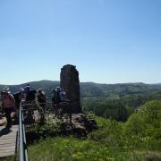 dimanche 06-05 -34 Entre les châteaux forts et étangs