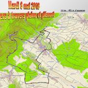 mardi 08-05 - 1 Sentiers à travers plaine et piémont