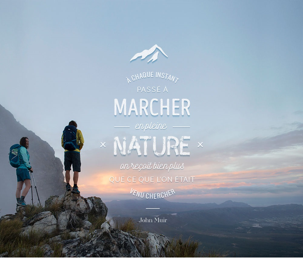 Fond d ecran randonnee citation montagne outdoor 1